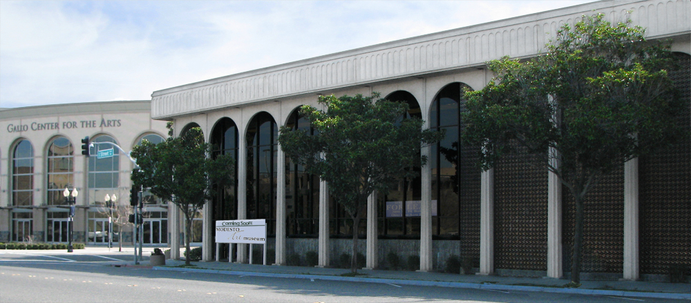 Coming Soon! A new home for the Modesto Art Museum.