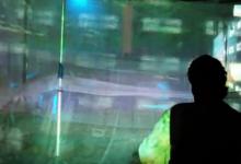 SSSHHHH!, A video installation with Illuminated Corridor